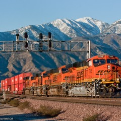 BNSF at First Light