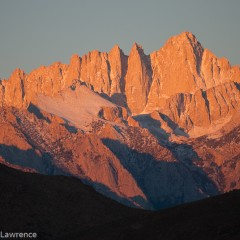 Mt. Whitney, Sunrise